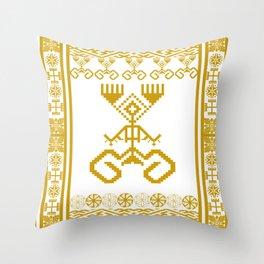 old symbols Throw Pillow