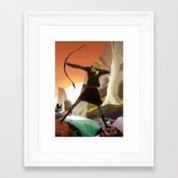 legolas Framed Art Prints featuring Legolas by maracass