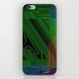 Green Slug iPhone Skin