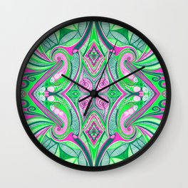 Dissected Love 4 Symmetrical design Wall Clock