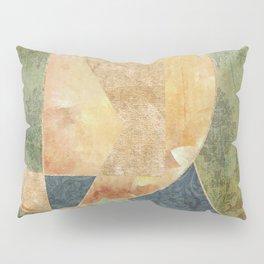 Abstract Grunge Patchwork Pillow Sham