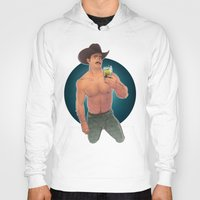 cowboy Hoodies featuring COWBOY by artedgar