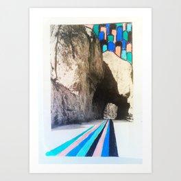 Carefree Highway. Art Print