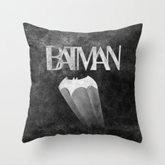 gothams knight Throw Pillow