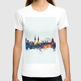 Belfast Northern Ireland Skyline T-shirt