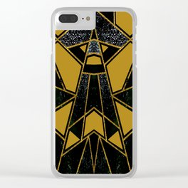 Abstract #555 Clear iPhone Case