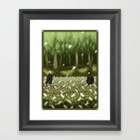 Pixel Art series 11 : THE BOSS Framed Art Print