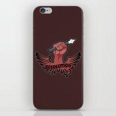 Viva la resolution! iPhone & iPod Skin