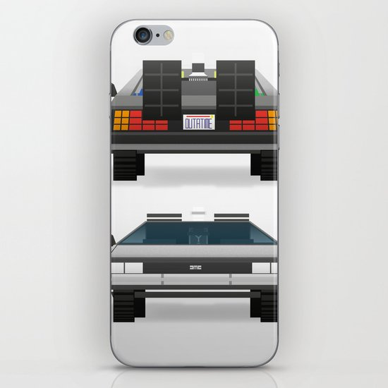 DMC: The Time Machine iPhone & iPod Skin