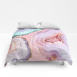 Mineral Agates #Glam collection Comforters