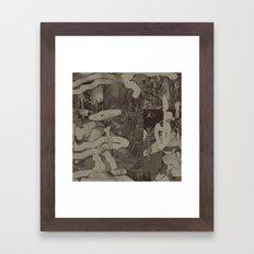 Sidewinder (A Message) Framed Art Print