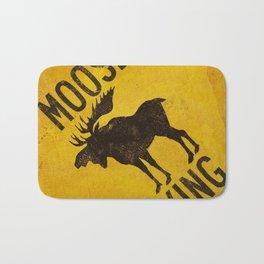 Moose Crossing XING Bath Mat
