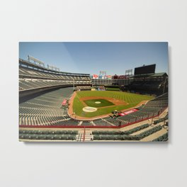 Texas Rangers Ballpark in Arlington Metal Print
