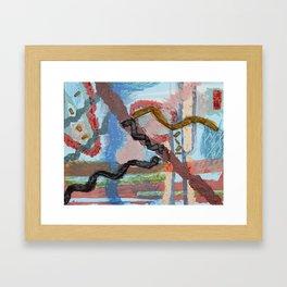 Tiptoe  Framed Art Print
