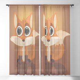 Fox Sheer Curtain