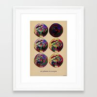 scorpio Framed Art Prints featuring - scorpio - by Digital Fresto