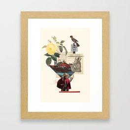 Book / Halt Framed Art Print