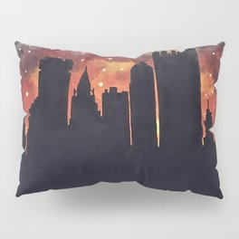 Starry Night in Pittsburgh Pillow Sham
