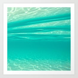Tropical Water Art Print