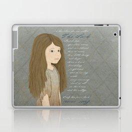 Portrait of Cosette from Les Misérables Laptop & iPad Skin