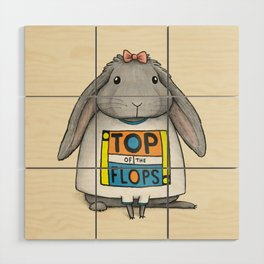 Top of the Flops Wood Wall Art