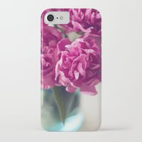 peony iPhone & iPod Cases featuring Peony by Jenny Ardell
