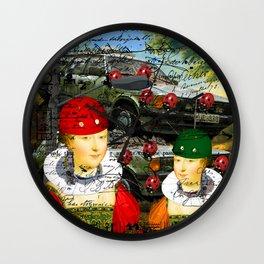 THE LAMP POST II Wall Clock