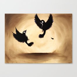 two Canvas Print