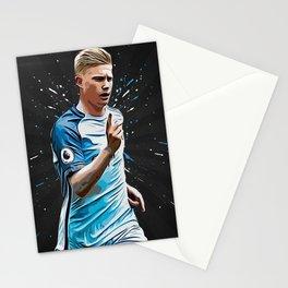 Kevin De Bruyne Stationery Cards