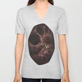 Bones Fractal Unisex V-Neck