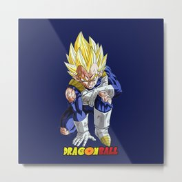 Super Saiyan Vegeta 0009 Metal Print