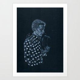 Heart On My Sleeve Art Print