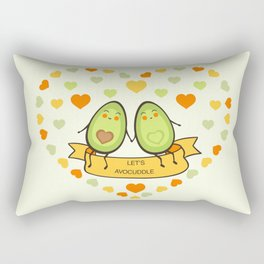 Let's avocuddle! Rectangular Pillow