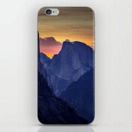 Half Dome Sunrise ~ Yosemite National Park iPhone Skin