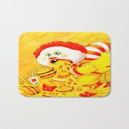 Ronald Over Eater Bath Mat