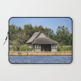 Horsey mere thatched cottage Laptop Sleeve