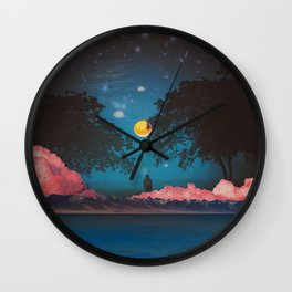 BLUE IS THE WARMEST COLOR Wall Clock