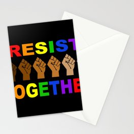 Resist Together BLM Stationery Cards