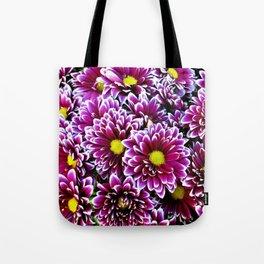 Purple Pink  Dbeahlias Tote Bag