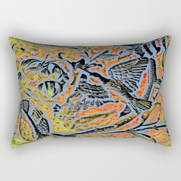 Bird in Tree #1c Rectangular Pillow