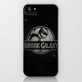 Jurassic Galaxy - Metal iPhone Case
