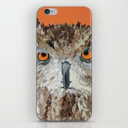 Wise Owl.  Hootie, Who, Who iPhone Skin