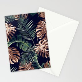 Tropical Garden - Night Stationery Cards