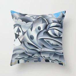 Cumulonimbus Throw Pillow