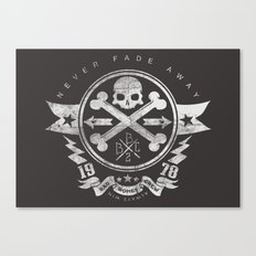 Bad Bones Crew 2 Canvas Print