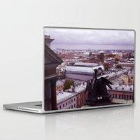 cityscape Laptop & iPad Skins featuring cityscape by Gayana Manukova
