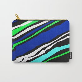 Cool Streak - Diagonal Carry-All Pouch