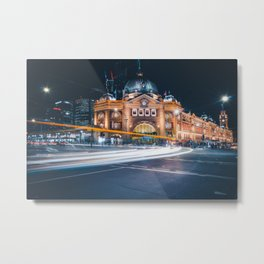 Flinders Light Metal Print