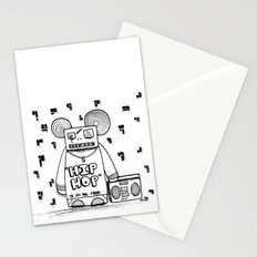 hip hop is all the rage Stationery Cards