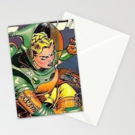 Astronaut Girl Stationery Cards
